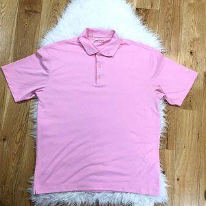 Nike Golf Polo Shirt Men Fit Dry Short Sleeves SzL